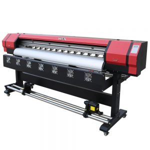 Impressora de 1,6 m per imprimir impressora banner de dissolvent impressora de gran format WER-ES1601