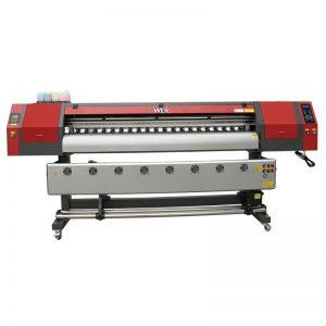 Impressora de sublimació de tints de 1,8 m d'ample amb tres capçals d'impressió dx5 per a la impressió de samarreta WER-EW1902