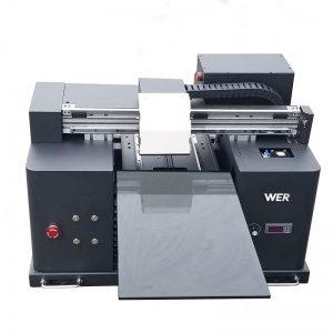 2018 Impressora de llums led UV a4 dtg camisa impressora de logotip a la venda WER-E1080T