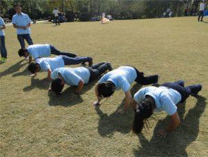 Activitats al parc de Gucun, tardor de 2014