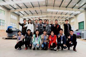 Treballadors del B2B a la seu central, 2015