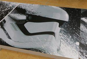 Cartellera impresa per la impressora UV de gran format WER-G2513UV