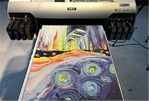 Mostre de llenç de la impressora UV A2 WER-EH4880UV