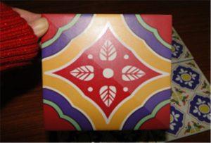 Mosaic de ceràmica imprès a la impressora A2 uv WER-D4880UV