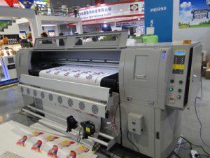 Màquina d'impressió de cuir