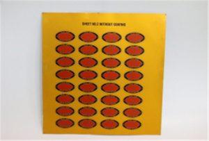 Impressió mostra de metall en la impressora UV A3 WER-E2000UV