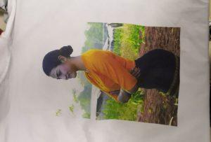 Samarreta d'impressió de camises per al client de Birmània des de la impressora WER-EP6090T