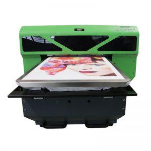 Mida A2 DTG directa a la màquina d'impressió T-shirt de la impressora de peces WER-D4880T