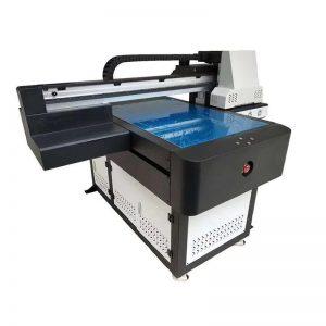 millor preu 3d A3 digitals tèxtils de ceràmica de vinil rajola ULTRAVIOLETA plaquita plana Impressora amb 8 colors WER-ED6090UV