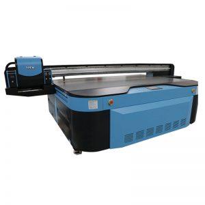 2,5 m * 1,3 m impressió en 3D en relleu Impressora UV industrial per a metall, fusta, vidre; ceràmica; tauler; acrílic; pvc,